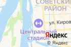 Центр стрелковой подготовки на карте