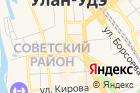Национальный музей Республики Бурятия на карте