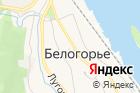 Территориальный отделс. Белогорье на карте