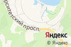 ДВФУ, Дальневосточный федеральный университет на карте