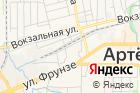 Приморская ветеринарная служба, Артемовская станция поборьбе сболезнями животных на карте