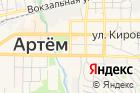 Артемовский почтамт на карте