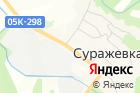 Суражевский на карте