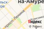 Комсомольский-на-Амуре государственный технический университет на карте