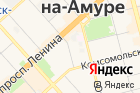 Мировые судьи Ленинского округаг. Комсомольска-на-Амуре иКомсомольского района на карте