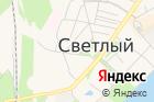 Светловское архитектурно-планировочное бюро, Администрация Светловского городского округа на карте