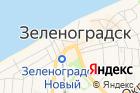 Зеленоградский универсальный рынок на карте