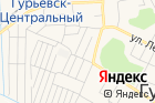 Советский на карте