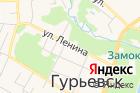 Управление Пенсионного фонда РФвГурьевском районе на карте