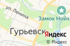 ОМВД России поГурьевскому муниципальному району на карте