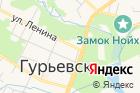 Гурьевский комплексный центр социального обслуживания населения на карте