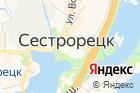 Курортный на карте