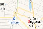 Магазин канцелярских товаров наСоветской на карте