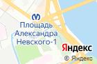 Коммунистическая площадка Александро-Невской Лавры на карте