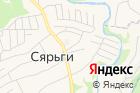 Охта-парк на карте