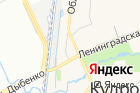 Серпантин на карте