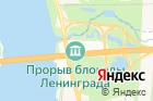 Прорыв блокады Ленинграда на карте