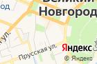 Новгородский областной дворец спорта на карте