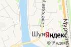 Участковый пункт полиции,пос. Шуя на карте