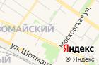 Столовая наСоветской улице на карте