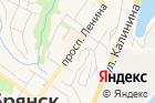 Брянский кафедральный собор воимя Святой Троицы на карте