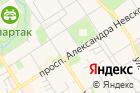 Невская на карте