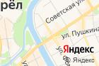 Супермаркет товаров длядома Уютерра на карте