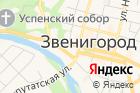 Храм Вознесения Господня вЗвенигороде на карте