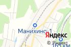 Манихино-1 на карте