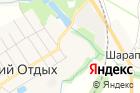 Продуктовый магазин наЗелёной вл5 на карте