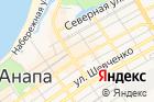 Балиzza на карте