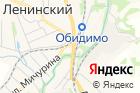 Ленинский на карте