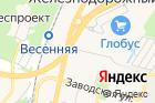 Автостоянка вКлимовске на карте