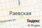 Танисы Раевской на карте