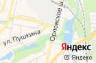 Косогорский на карте