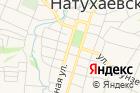 Натухаевское на карте