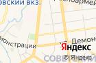 Советского районаг. Тулы на карте