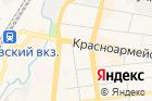 Москвы на карте
