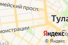 Воентур-Тула на карте