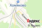 Хомяковский на карте