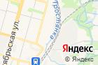 Отдел вневедомственной охраны Зареченского района на карте