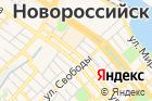 Архитектурно-земельный центрг. Новороссийска на карте