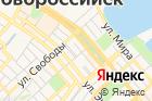 Новорос-Тур на карте