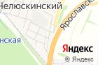 Магазин на1-ой Тракторной улице на карте