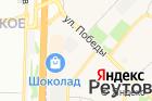 Автостоянка вРеутове наулице Победы, вл29ст2 на карте