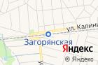 Загорянская на карте