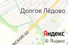 Автомойка вДолгое Ледово наСоветской улице на карте