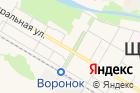 На русском рубеже на карте