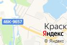 Баня исауна вКрасково на карте