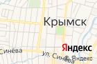 Крымск на карте